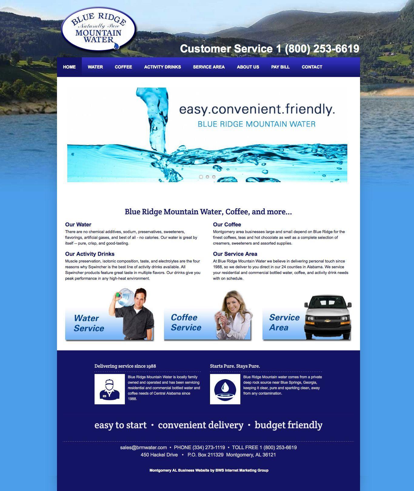 Blue Ridge Mountain Water - Prattville AL